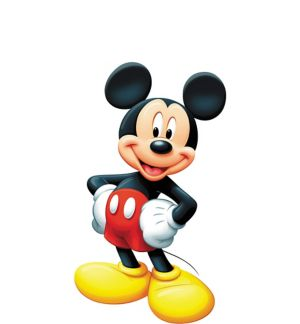 Mickey Mouse Life-Size Cardboard Cutout