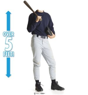 Baseball Player Life Size Photo Cardboard Cutout 68in