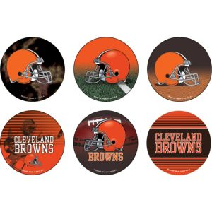 Cleveland Browns Buttons 6ct
