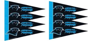 Carolina Panthers Pennants 8ct