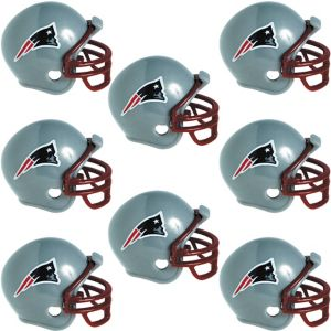 New England Patriots Helmets 8ct