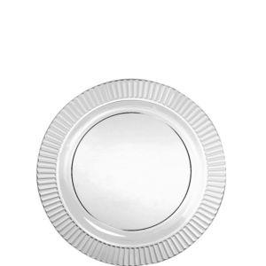 CLEAR Premium Plastic Dessert Plates 32ct