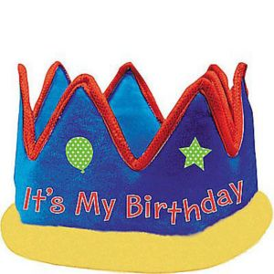 Birthday Fabric Crown