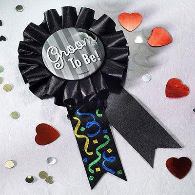 Groom to Be Award Ribbon