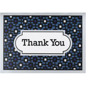 Handsome Hue Thank You Notes 8ct
