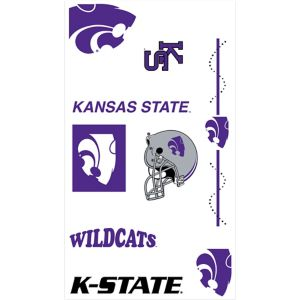 Kansas State Wildcats Tattoos 7ct