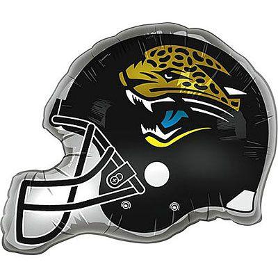 Jacksonville Jaguars Balloon - Helmet