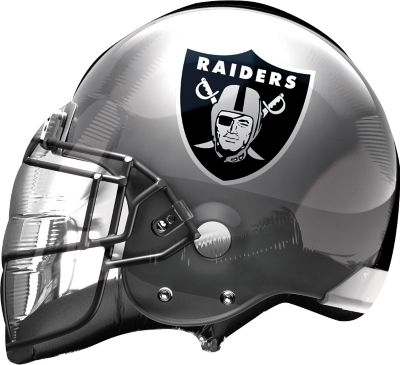 Oakland Raiders Balloon - Helmet