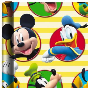 Mickey Mouse Gift Wrap