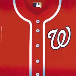 Washington Nationals Lunch Napkins 36ct