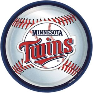 Minnesota Twins Lunch Plates 18ct