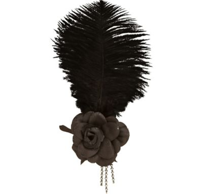 Flapper Flower Headpiece