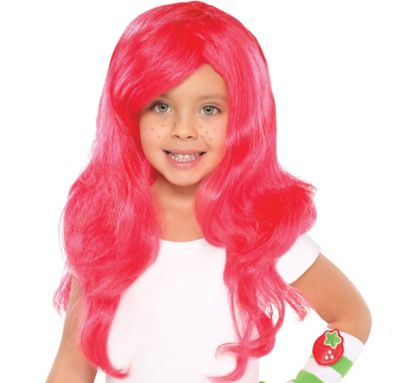 Child Strawberry Shortcake Wig
