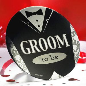 Groom-to-Be Button