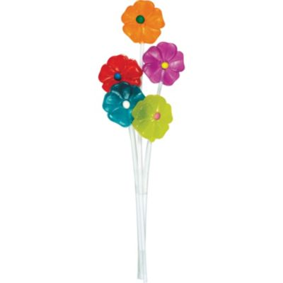 Flower Lollipops 5ct
