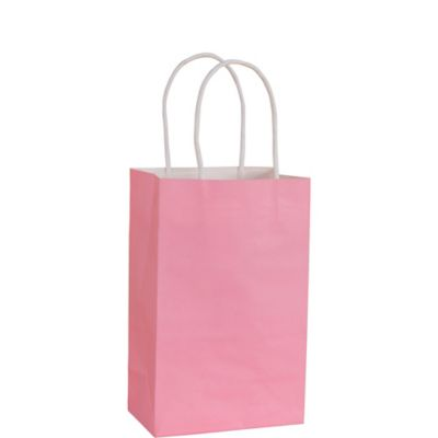 Light Pink Kraft Bag