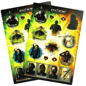 G.I. Joe Stickers 34ct
