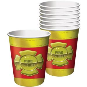 Firefighter Cups 8ct