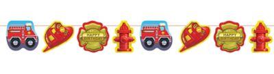 Firefighter Garland