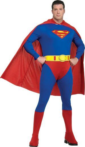 Adult Superman Costume Plus Size