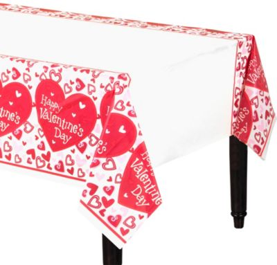 Be Mine Valentine's Day Table Cover
