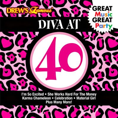 Diva At 40 Music CD