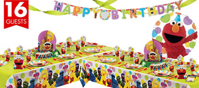 Elmo Party Deluxe Party Kit
