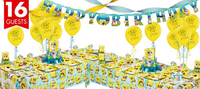 SpongeBob Party Supplies Deluxe Party Kit