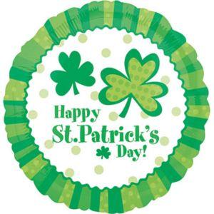 St. Patrick's Day Balloon - Shamrocks