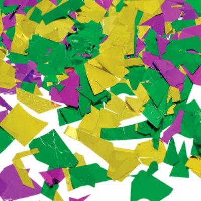 Metallic Mardi Gras Confetti
