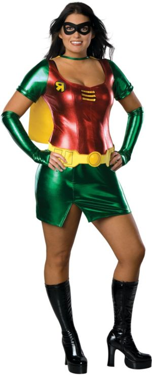 Adult Sexy Robin Costume Plus Size - Batman
