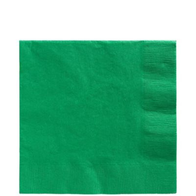 Festive Green Lunch Napkins 50ct