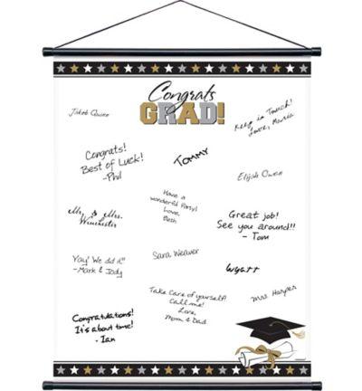 Graduation Autograph Scroll