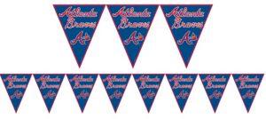Atlanta Braves Pennant Banner
