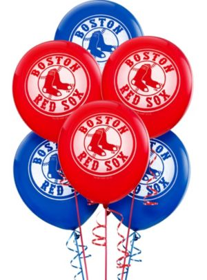 Boston Red Sox Balloons 6ct