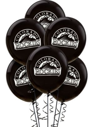 Colorado Rockies Latex Balloons 12in 6ct