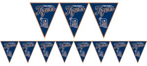 Detroit Tigers Pennant Banner