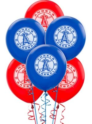 Los Angeles Angels Balloons 6ct