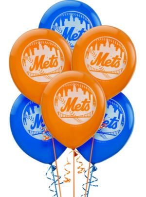 New York Mets Balloons 6ct