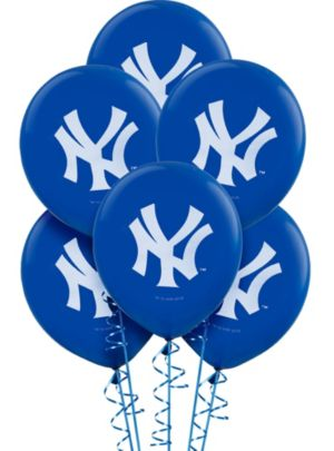 New York Yankees Balloons 6ct
