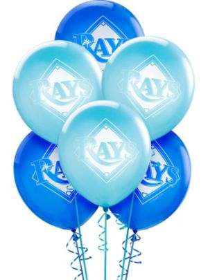Tampa Bay Rays Balloons 6ct