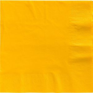 Sunshine Yellow Dinner Napkins 20ct