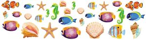 Sea Life Cutouts 30ct