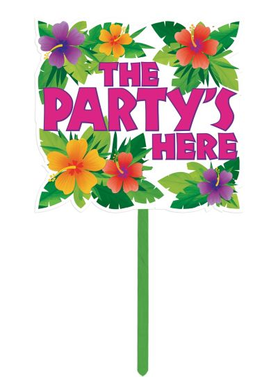 Summer Party Yard Sign