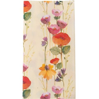 Spring Flowers Premium Guest Towels 16ct