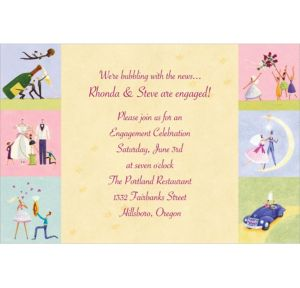 Custom Promise of Love Bridal Shower Invitations