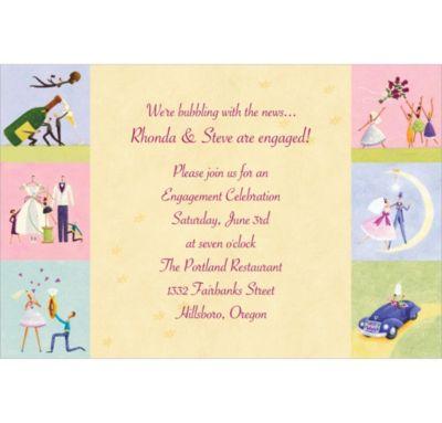 Custom Promise of Love Bridal Shower Invitations