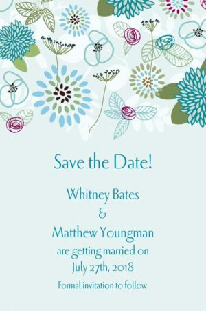 Custom Prancing Pattern Cool Invitations