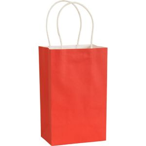Medium Red Kraft Bags 10ct
