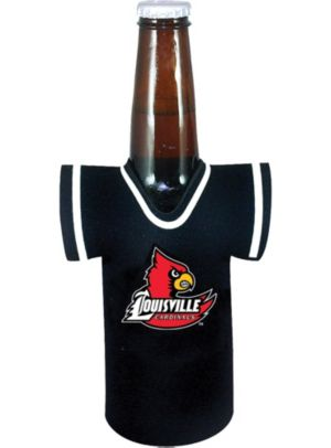 Louisville Cardinals Jersey Bottle Coozie